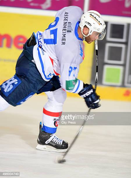 Carsten Gosdeck of the Heilbronner Falken during the game between the Pinguins Bremerhaven and the Heilbronner Falken on october 30 2015 in...