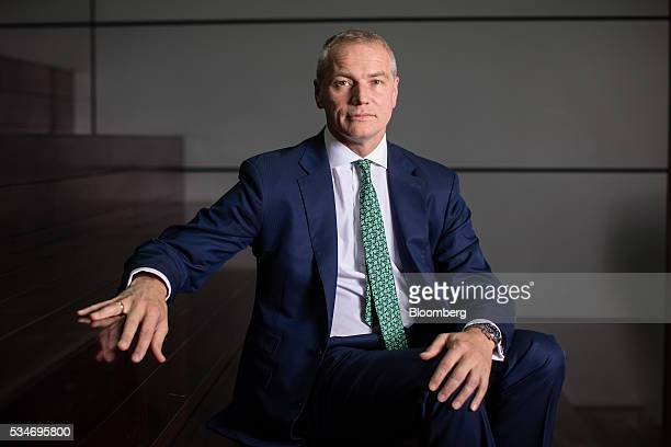 Carsten Kengeter chief executive officer of Deutsche Boerse AG poses for a photograph following an interview in London UK on Friday May 27 2016 In...