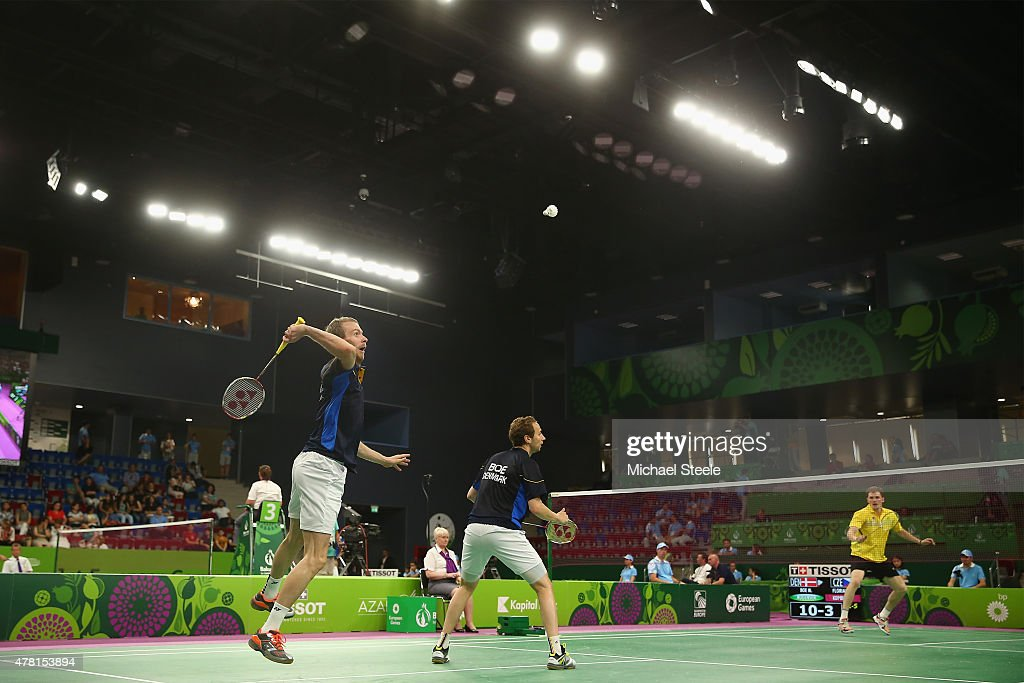 Badminton Day 11: Baku 2015 - 1st European Games