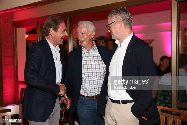 Carsten Schmidt, Rainer Bonhof during the welcome reception prior to the 30th anniversary celebration of the German World Cup win at 1990 on October...