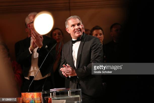 Carsten Spohr CEP of Lufthansa AG during the Semper Opera Ball 2018 at Semperoper on January 26 2018 in Dresden Germany