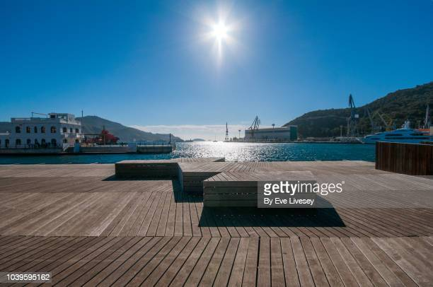 cartagena bay - quayside stock photos and pictures