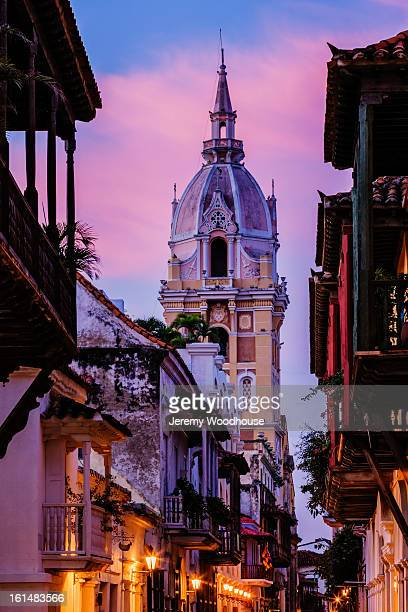 Cartagena Cathedral at dawn