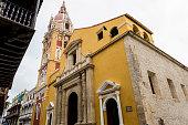Cartagena Cathedral, Cartagena, Colombia.