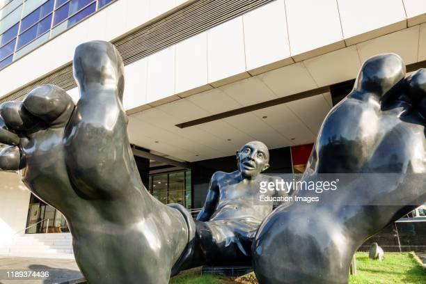 Cartagena Centro Commercial Nao plaza indoor mall with Idan Zareski sculpture