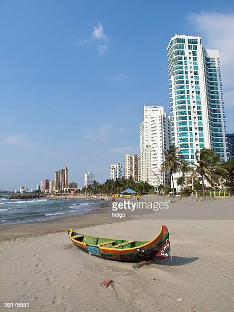 Cartagena Colombia Bocagrande beach