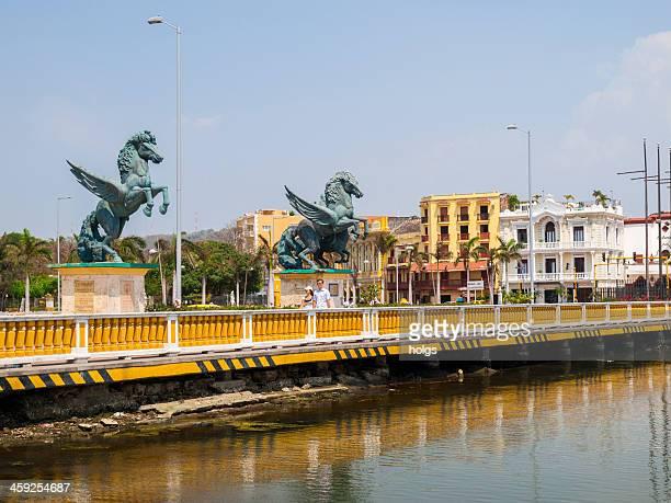 Cartagena de Indias, Colombia, Muelle de los Pegasos