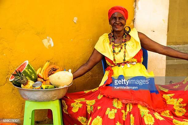 Cartagena Fruit Lady
