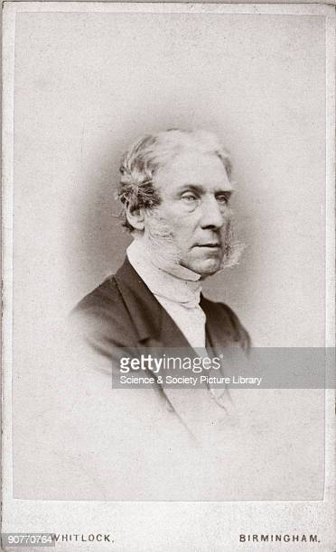 Carte de visite photograph by H J Whitlock of Glaisher who became superintendent of the department of meteorology and magnetism at Greenwich...