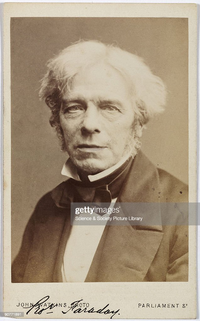 Michael Faraday English Chemist And Physicist C 1850s News Photo