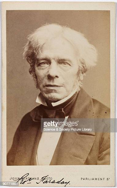 Carte de visite photograph by John Watkins Michael Faraday discovered the principles of the electric motor and dynamo Faraday's great life work was...
