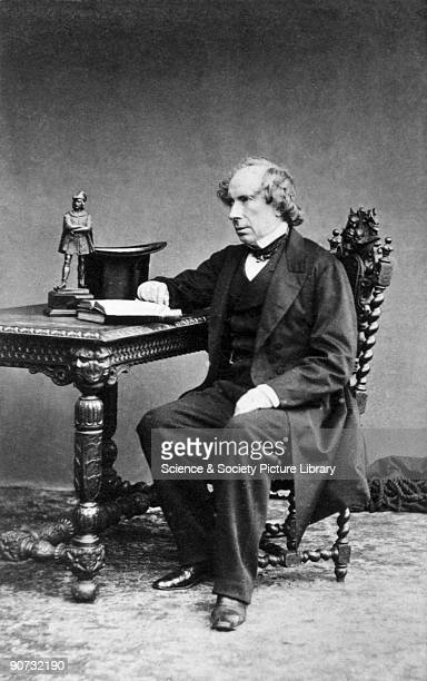 Carte de visite photograph of Sir George Gabriel Stokes , Irish mathematical physicist who contributed to fluid dynamics and made advances in the...
