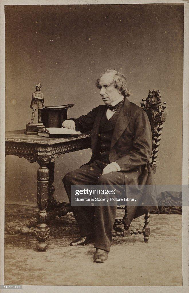 Carte De Visite Photograph Of Sir George Gabriel Stokes Irish