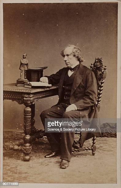 Carte de visite photograph of Sir George Gabriel Stokes Irish mathematical physicist who contributed to fluid dynamics and made advances in the areas...