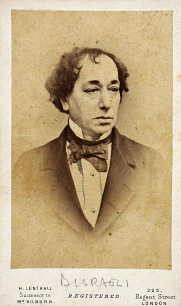 Carte De Visite Photograph Taken By H Lenthall Of Regent Street London Disraeli