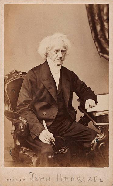 Carte De Visite Photograph Taken By Maull Co Sir John Herschel 1792
