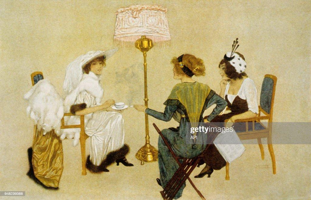 Carte De Voeux Art Nouveau Pictures Getty Images