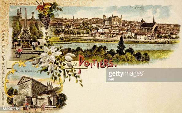 Carte postale de Poitiers, dans la Vienne, en France. News ...