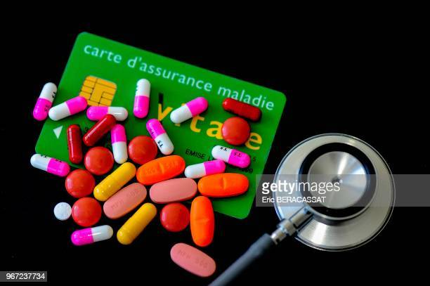 Carte vitale stétoscope consommation de médicaments