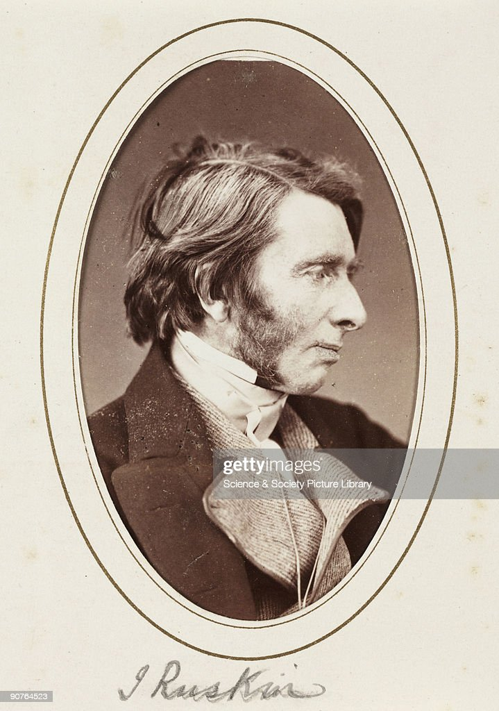 J Ruskin C 1870 News Photo