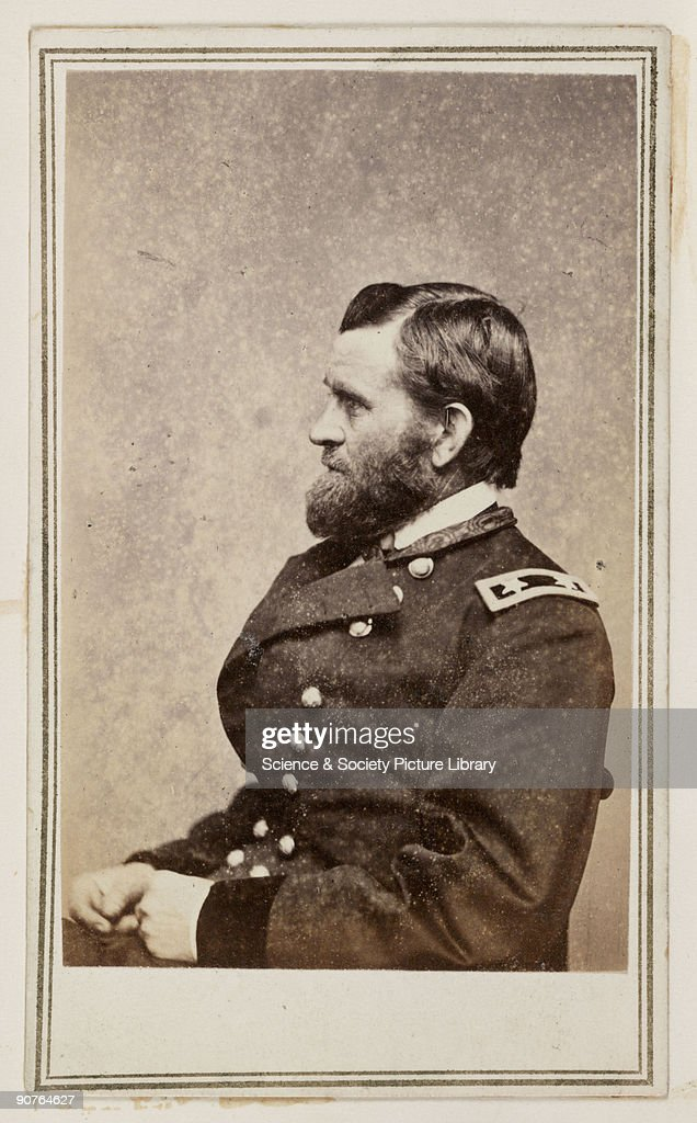 A Carte De Visite Portrait Of General Ulysses Simpson Grant 1822 1885