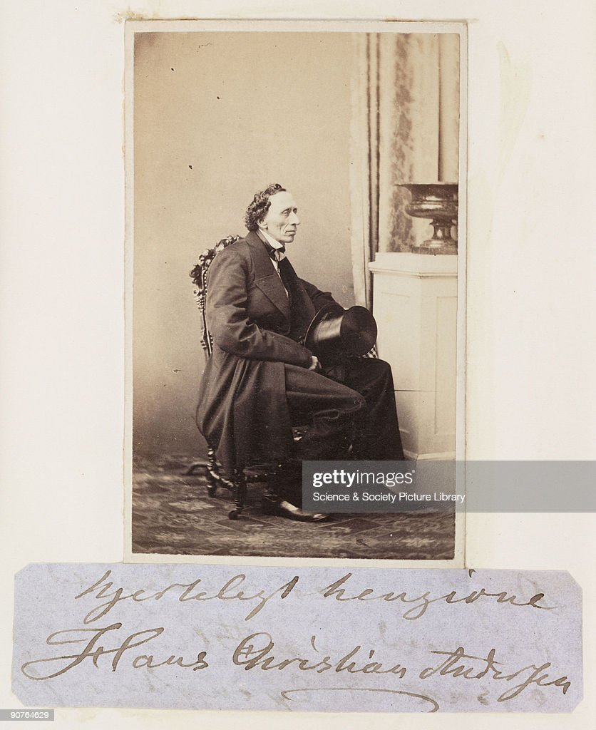 Hans Christian Andersen C 1865 News Photo