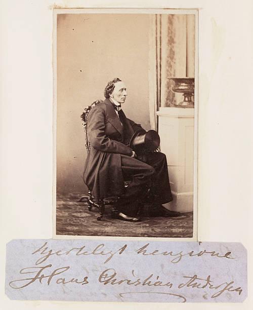 Hans Christian Andersen C 1865