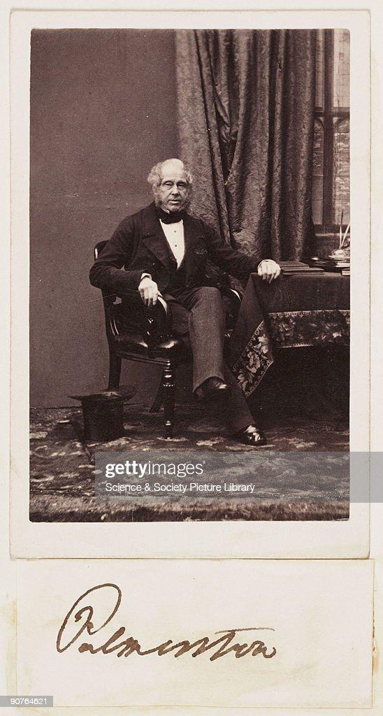 Palmerston C 1862 Nachrichtenfoto