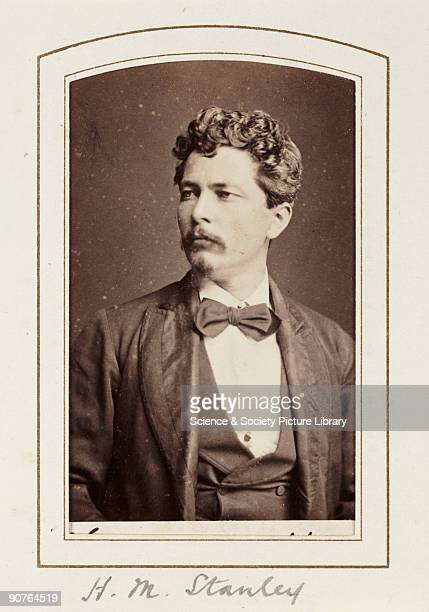 A cartedevisite portrait of Henry Morton Stanley published by the London Stereoscopic Photographic Company in about 1871 'Dr Livingstone I presume'...