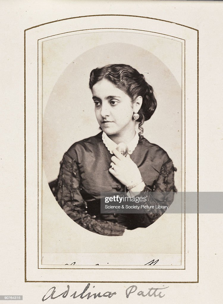 Adelina Patti C 1866 News Photo