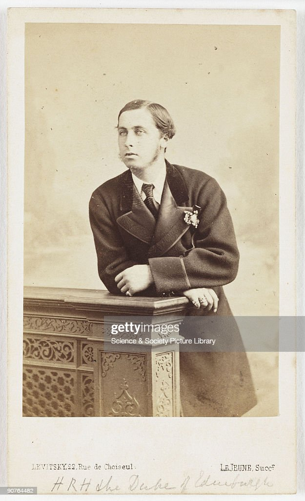 Prince Alfred Duke Of Edinburgh C 1870 News Photo