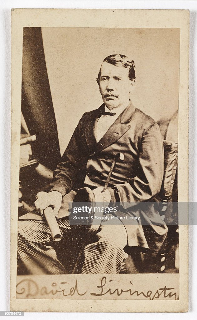 A Carte De Visite Portrait Of The Explorer David Livingstone 1813 1873
