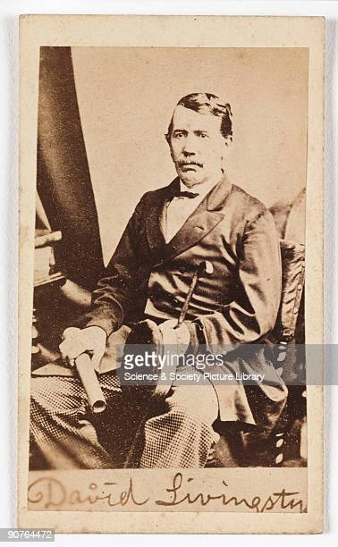 A cartedevisite portrait of the explorer David Livingstone taken by an unknown photographer in about 1870 A cartedevisite is a photograph mounted on...