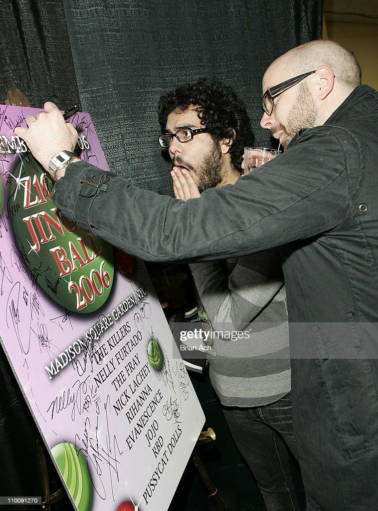 Cartel during Z100's Jingle Ball 2006 - H&M Artist Gift Lounge
