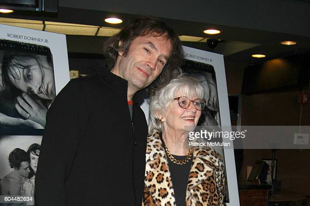 Carter Burwell and Patricia Bosworth attend Screening of FUR An Imaginary Portrait of Diane Arbus Hosted by Bob Berney and Simon de Pury at Chelsea...