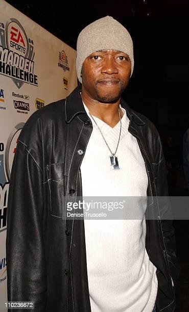 TK Carter during 2004 EA Sports Madden Challenge Finals Kick Off Party at Rum Jungle at Mandalay Bay in Las Vegas NV United States