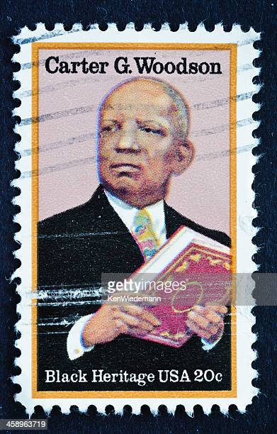 Carter G. Woodson Stamp