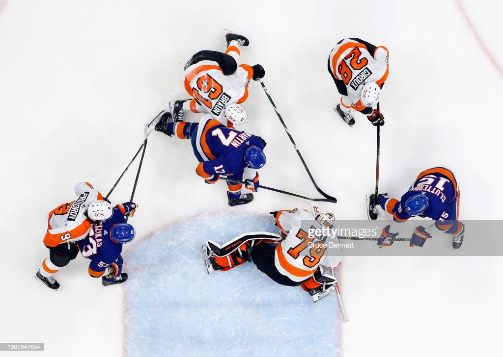 Philadelphia Flyers v New York Islanders : News Photo