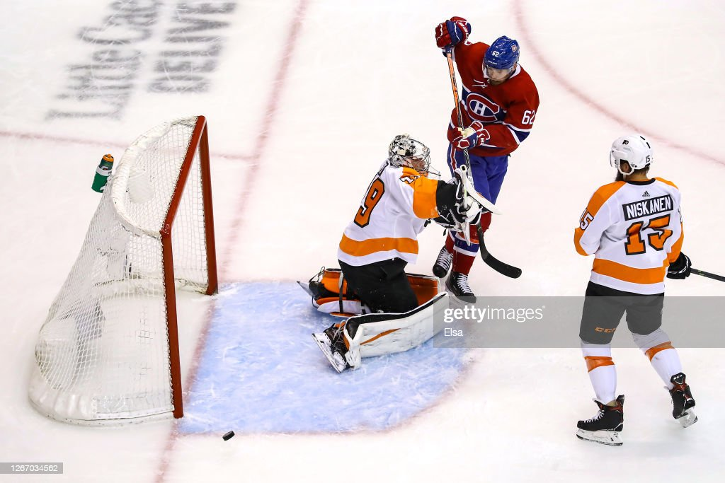 Philadelphia Flyers v Montreal Canadiens - Game Four : News Photo