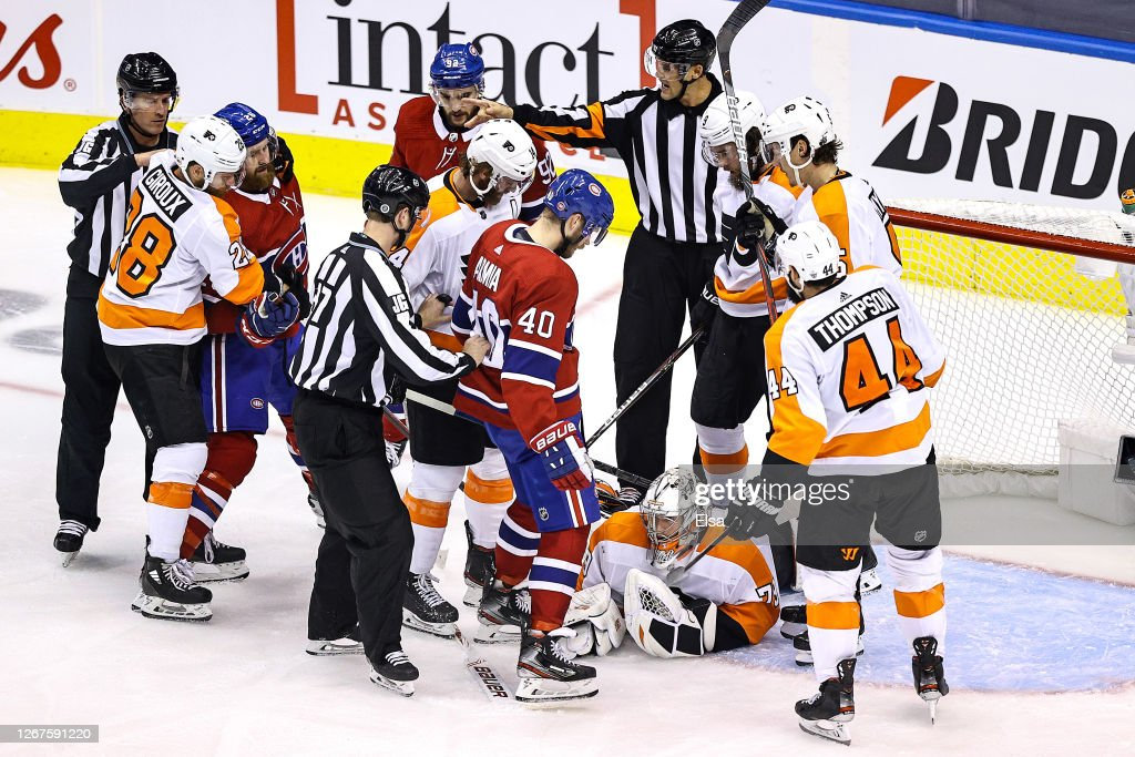 Philadelphia Flyers v Montreal Canadiens - Game Six : News Photo