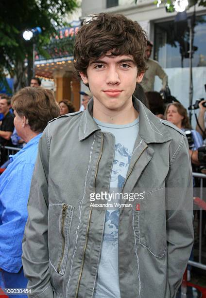 Carter Jenkins during 'Monster House' Los Angeles Premiere Red Carpet at Mann Village in Westwood California United States