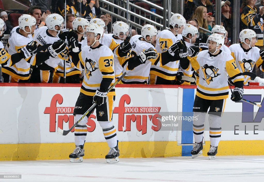newest 2205f 4907d Carter Rowney and Bryan Rust of the Pittsburgh Penguins are ...