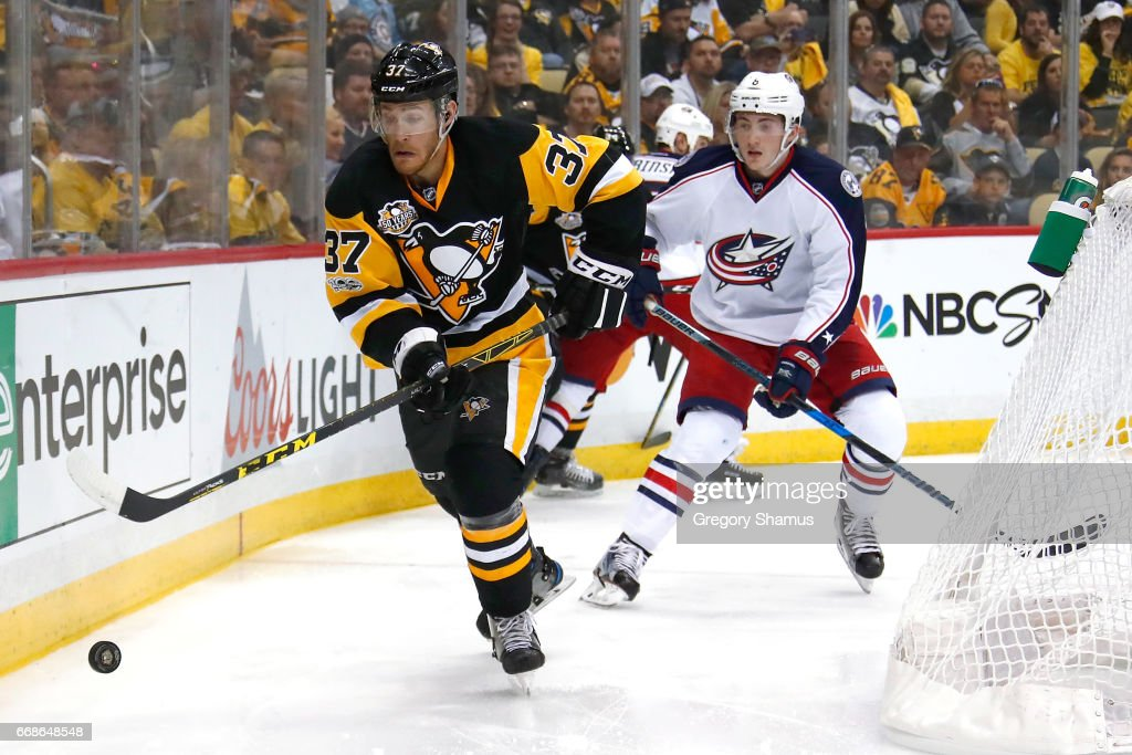 Columbus Blue Jackets v Pittsburgh Penguins - Game Two : News Photo