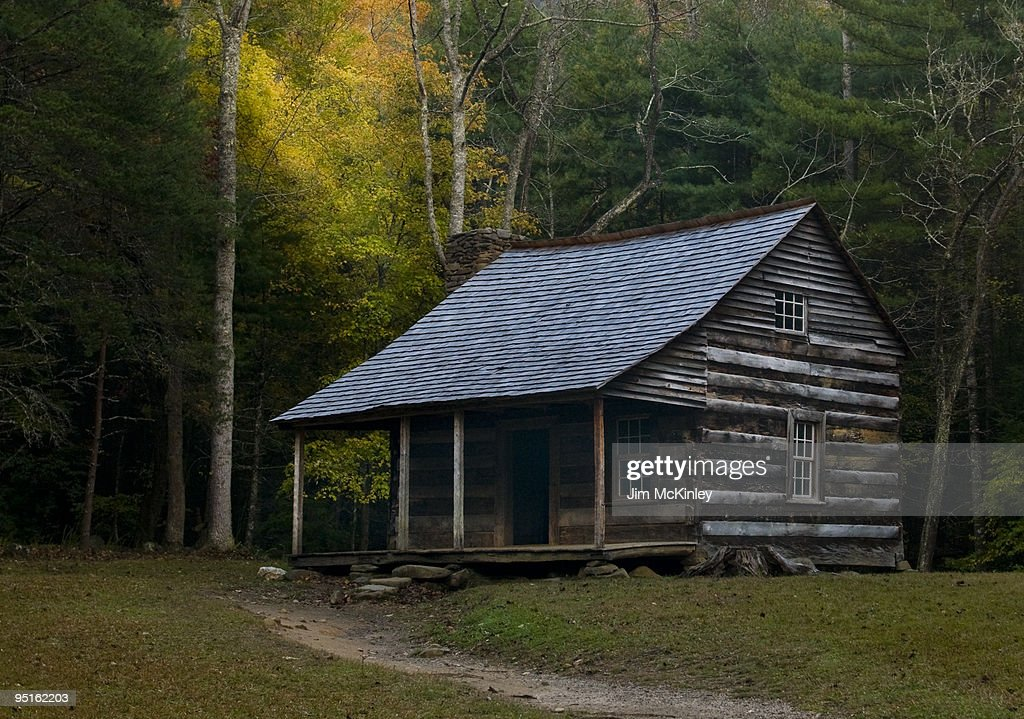 Carter Shields Cabin : Stock Photo