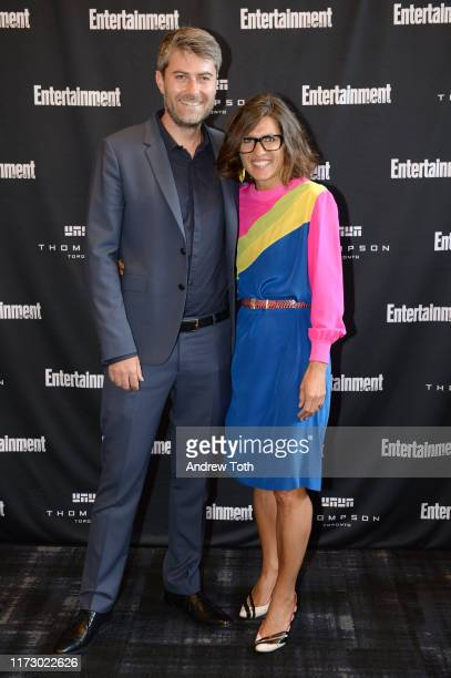 Carthew Neal and Chelsea Winstanley attend Entertainment Weekly's Must List Party at the Toronto International Film Festival 2019 at the Thompson...