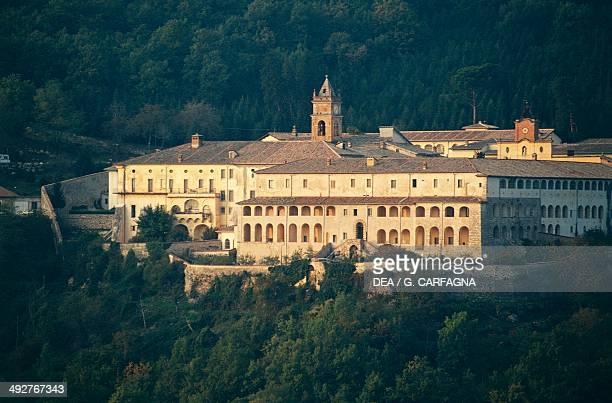 Carthusian monastery of Trisulti, 13th century, Collepardo, Lazio, Italy.