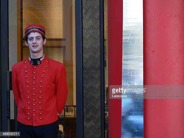 Cartier doorman