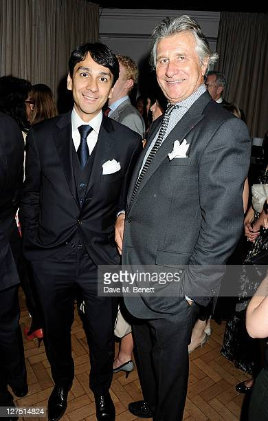 Cartier Managing Director Francois Le Troquer and Executive Chairman of Cartier UK Arnaud Bamberger attend the Quintessentially Awards 2011 at One...