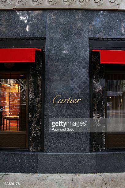 Cartier store in Chicago Illinois on SEPTEMBER 16 2012