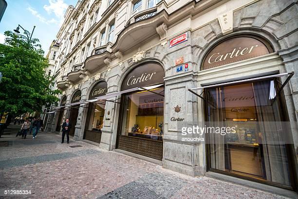 Cartier Shop in Prag